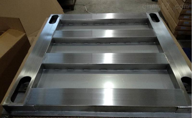 制药厂洁净区用3吨不锈钢地磅秤