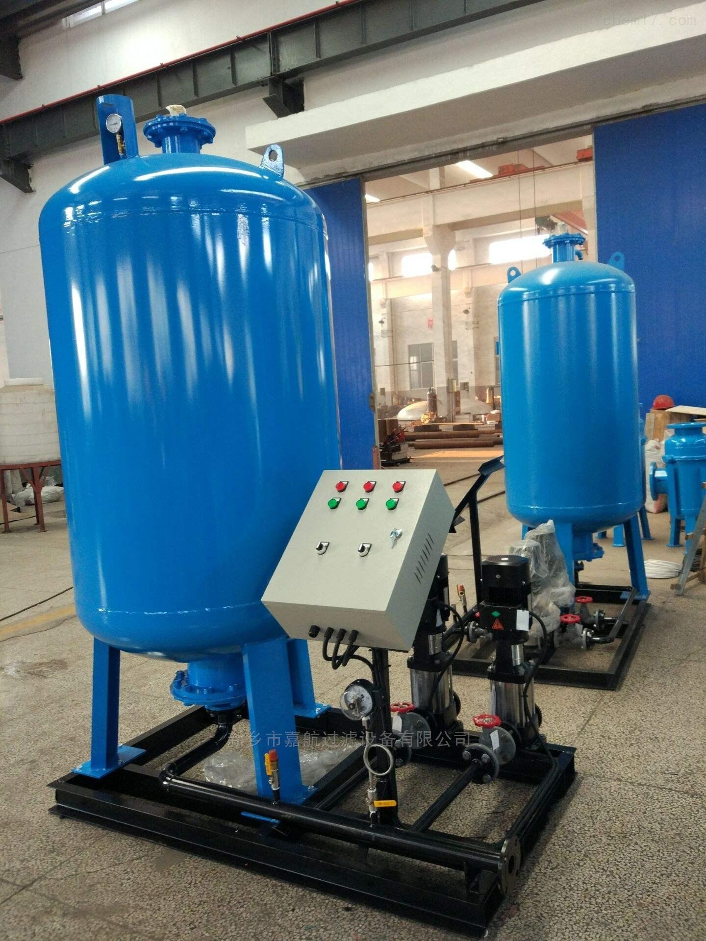 新式隔膜式定压补水装置操作详述