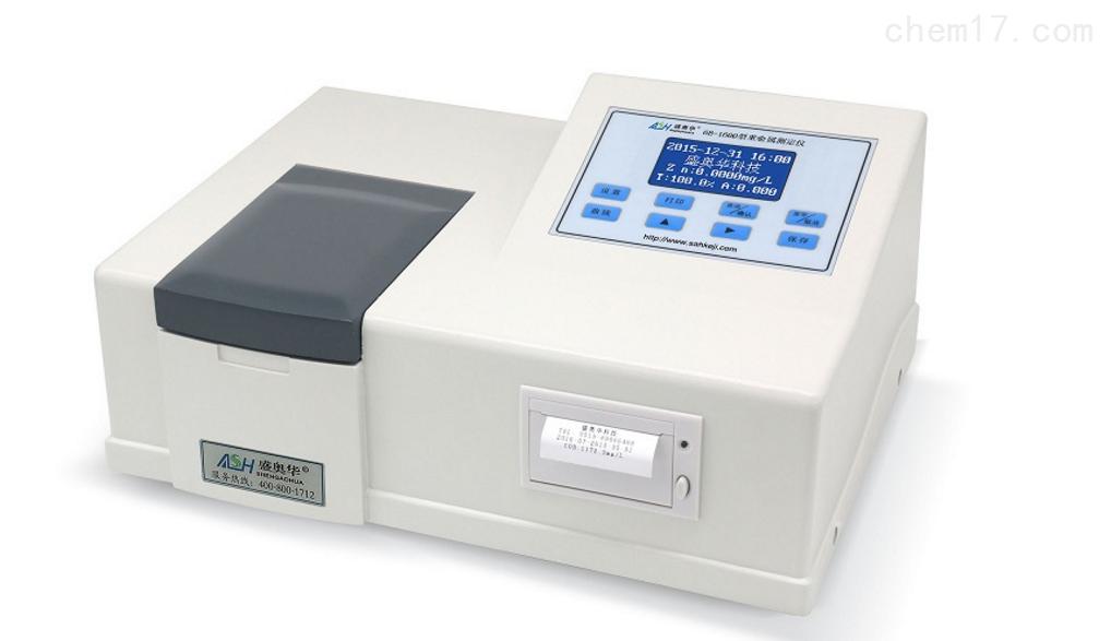 6B-1600型重金属多参数快速测定仪