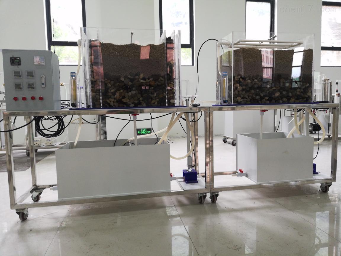 复合人工湿地实验装置