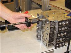进口气动量仪汽车零部件油泵箱体测量