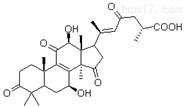 高纯度灵芝烯酸E中药化学成分,化学结构