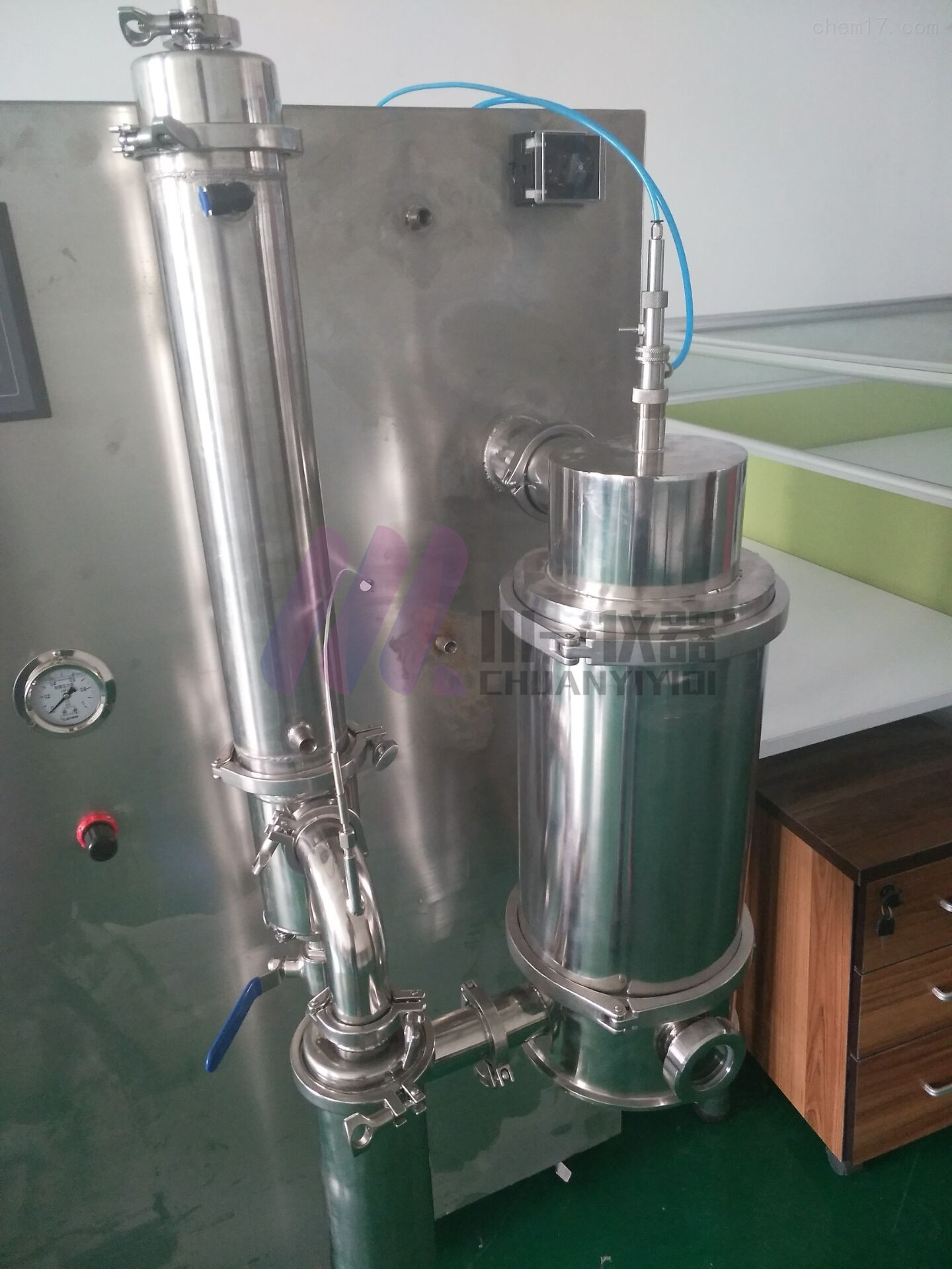 低温喷雾干燥机CY-6000Y二流体雾化造粒机