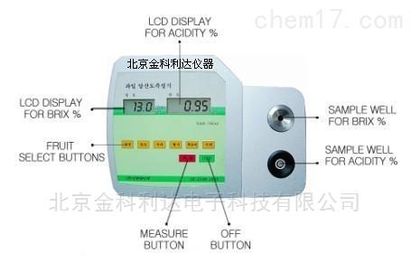 SAM-706AC水果酸度糖度测定仪韩国G-WON