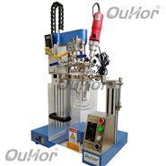 实验室彩妆加工真空搅拌玻璃反应器