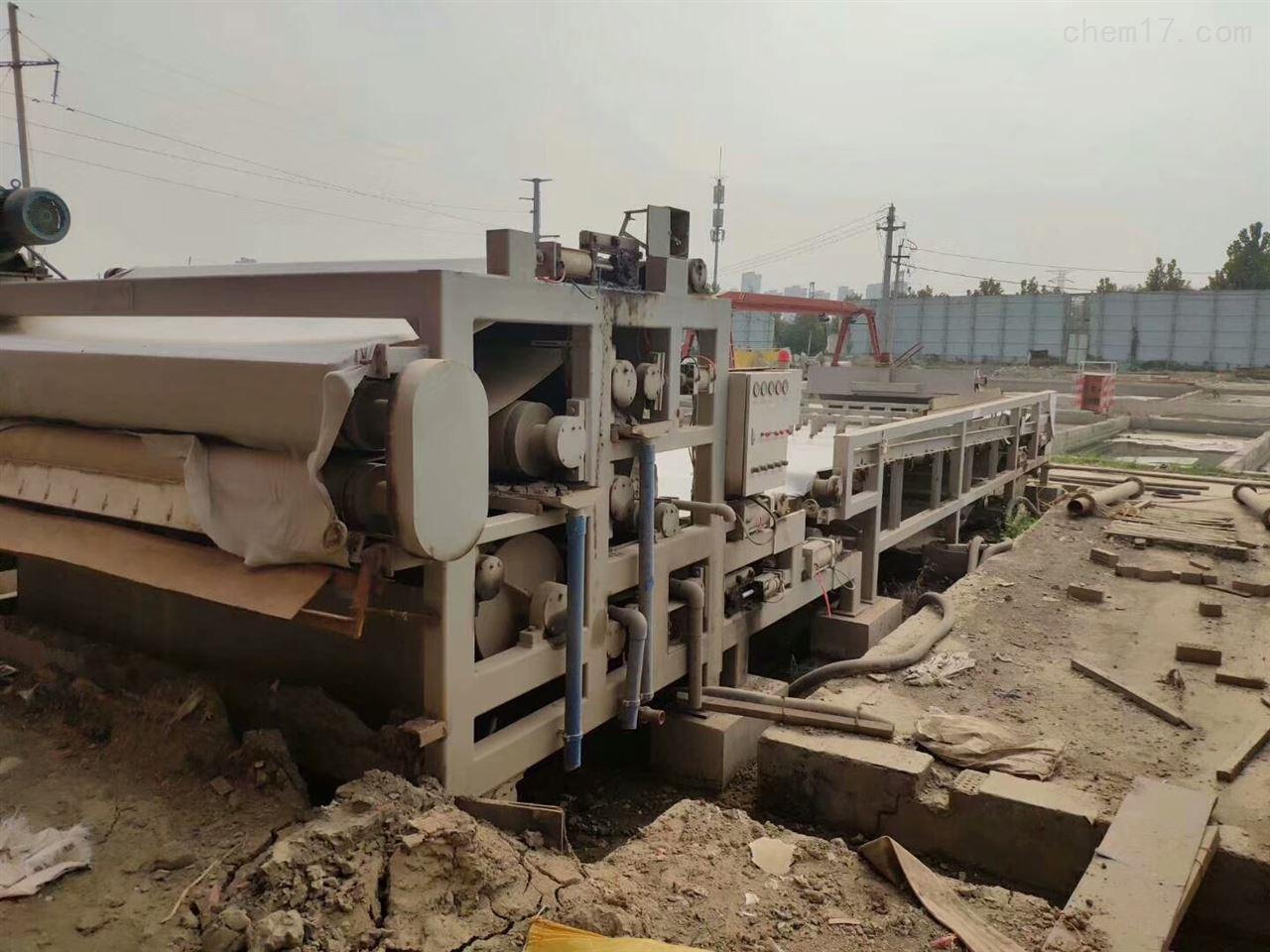 绿鼎3.5米带式压滤机回收广州绿鼎3.5米带式压滤机价格华丽