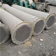 二手30平方不锈钢列管式冷凝器