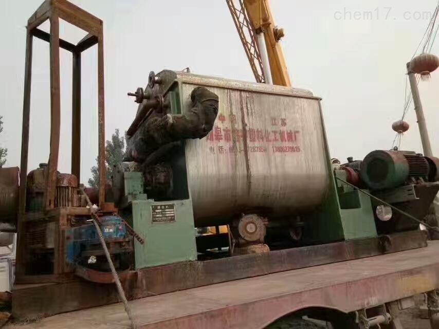2吨的螺带混合机回收二手2吨的螺带混合机