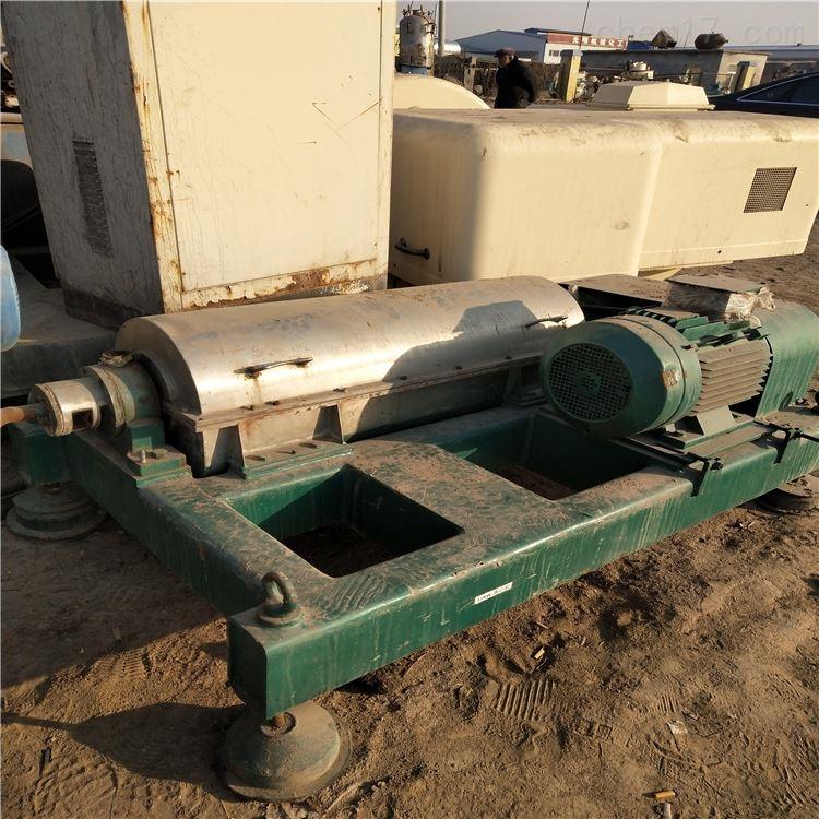 处理二手LW650卧式螺旋卸料沉降离心机