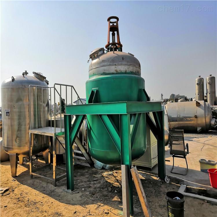 供应二手300L电加热搪瓷反应釜