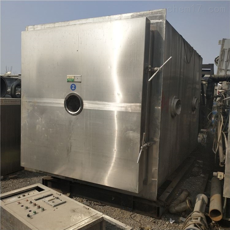 出售二手35平方真空冷冻干燥机