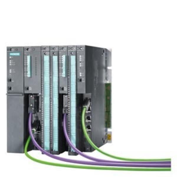 S7-400H在自动化技术的许多领域中,对自动化系统的可用性(从而故障安全性)的需求在不断提高。在许多领域中,设备停机会产生极高的成本。此时,只有冗余系统才能满足可用性要求。容错型 SIMATIC S7-400H 即能满足这些要求。即使在一个或多个故障导致控制器的部件出现故障时,也能继续运行。通过以这种方式实现的可用性让 SIMATIC S7-400H 尤其适用于以下应用领域:• 控制器发生故障后重启会产生很高费用的过程(通常在过程工业中)。• 停产的代价十分高昂的过程。• 涉及贵重材料的过程(例如在制药工业中)。• 无人监视的应用• 涉及较少维护人员的应用S7-400F/FHSIMATIC S7-400F/FH 故障安全自动化系统可在安全要求较高的工厂中使用。它可对立即停机不会给人员或环境带来危险的过程进行控制。S7-400F/FH 具有两种基本设计:• S7-400F:故障安全自动化系统。在控制系统中发生故障的情况下,生产过程会切换到安全状态并中断。• S7-400FH:故障安全和高可用性自动化系统。在控制系统中发生故障的情况下,冗余控制部分将发挥作用,继续控制生产过程。通过另外使用标准模块,可以建立一个全集成控制系统,可在非安全相关和安全相关任务共存的工厂环境中使用。可以使用相同的标准工具对整个工厂进行组态和编程。