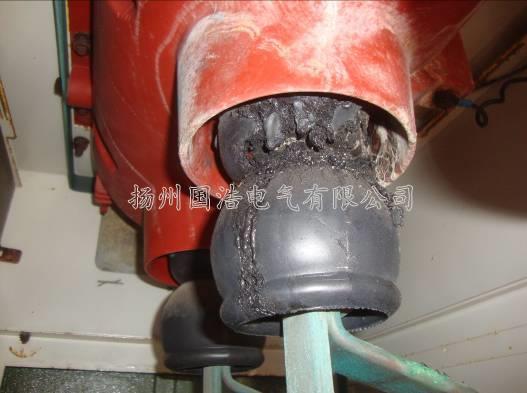 柜体绝缘材料老化引起的局部放电