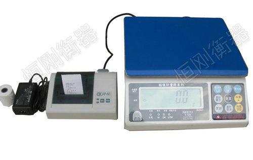 标签打印桌型电子秤