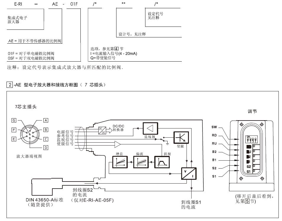 atos比例放大器e-ri-ae-05f/i 10现货