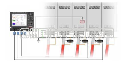 带电PD检测系统对中压电缆检测示意图