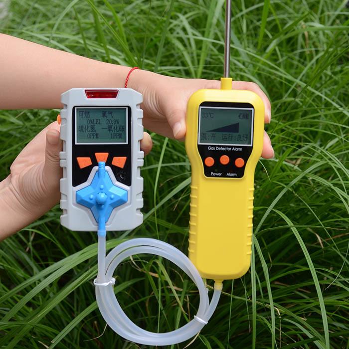 泵吸式多合一气体检测仪