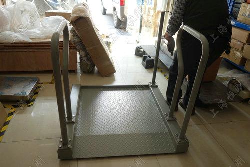 轮椅一体秤