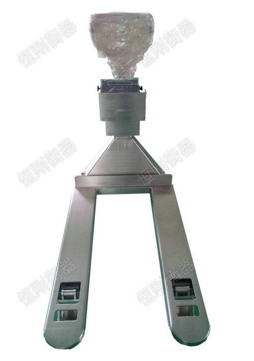 不锈钢材质防水叉车秤