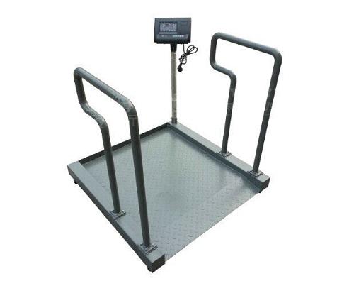 价格实惠,该轮椅电子秤采用全新结构的优质碳钢焊接秤台,带上下斜坡