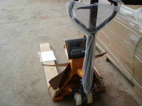 液压铲车秤