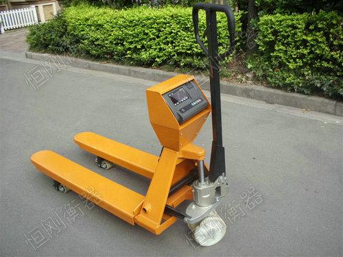 防爆电子叉车秤