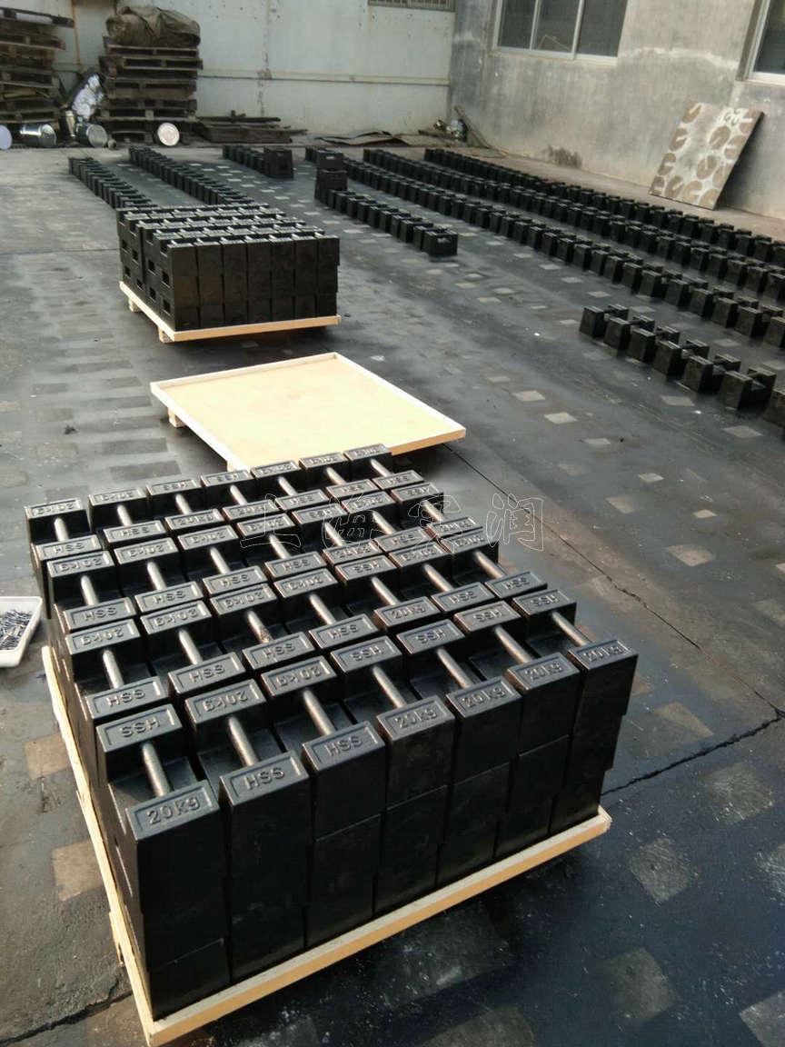台州25kg铸铁砝码