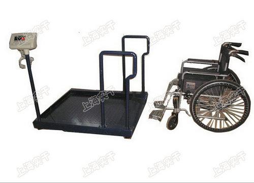 称轮椅的地磅秤