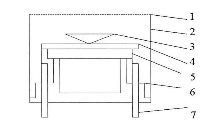 开放式超声传感器结构