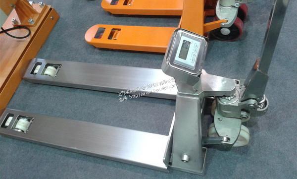 <strong>2000公斤液压叉车秤带电子称称重的地牛</strong>