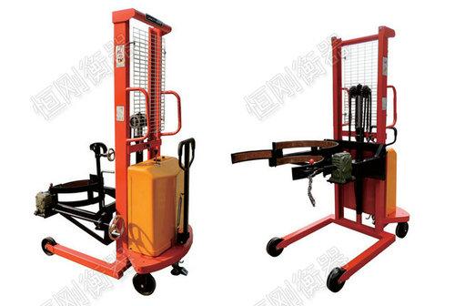 电动堆高油桶秤