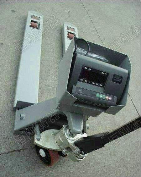 不锈钢叉车磅秤