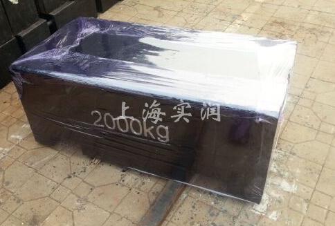 2000kg铸铁砝码