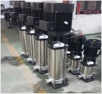 整体不锈钢材质的QDL14-140泵