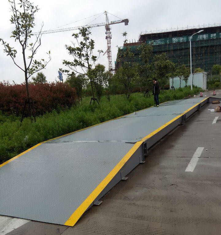 12米60吨无基坑式电子汽车衡安装