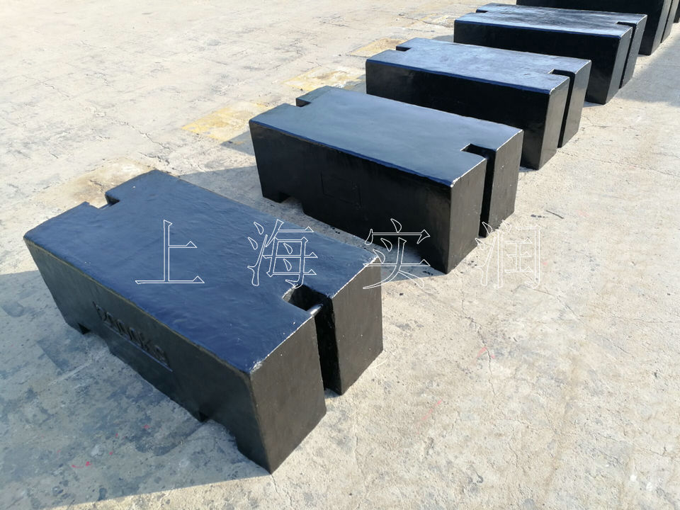 浙江1000kg铸铁标准砝码