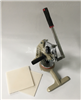 广泛使用手压取样刀,下压圆形布料切机器